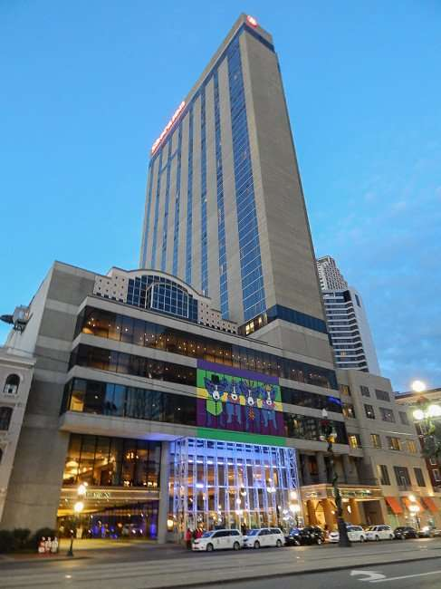 NOV 19, 2015 - Sheraton New Orleans Hotel in full view from Canal Street/photonews247.com