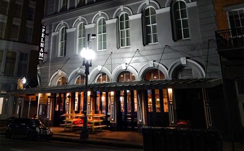 SEPT 14, 2015 - The Pelham Hotel front building early morning, New Orleans, LA/photonews247.com