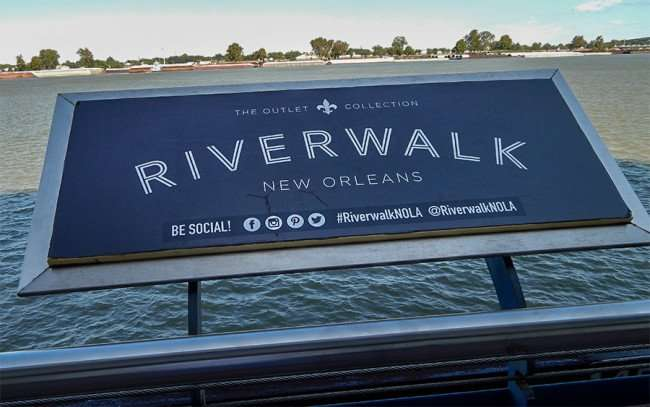 SEPT 14, 2015 - The Riverwalk New Orleans along the Mississippi river/photonews247.com