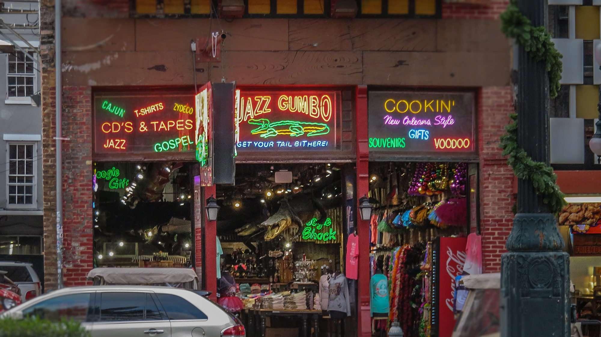 Jan 9, 2017 - jazz Gumbo, Canal Street, New Orleans/photonews247.com