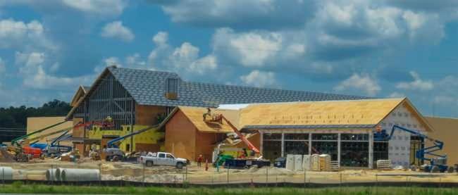 June 14, 2016 - Bass Pro Shops, Gainesville FL under construction/photonews247.com