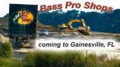 OCT 14, 2015 - Bass Pro Shops construction site in Gainesville, Florida/photonews247.com