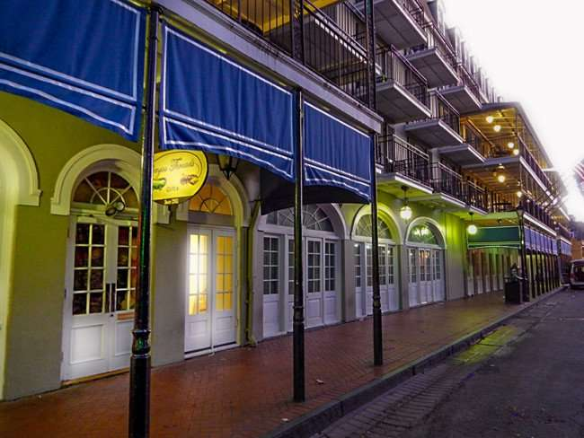 SEPT 14, 2015 - Bayou Threads Gifts for wearable and decorative masks adjacent to Shearaton French Quarter Hotel on Bourbon Street/photonews247.com