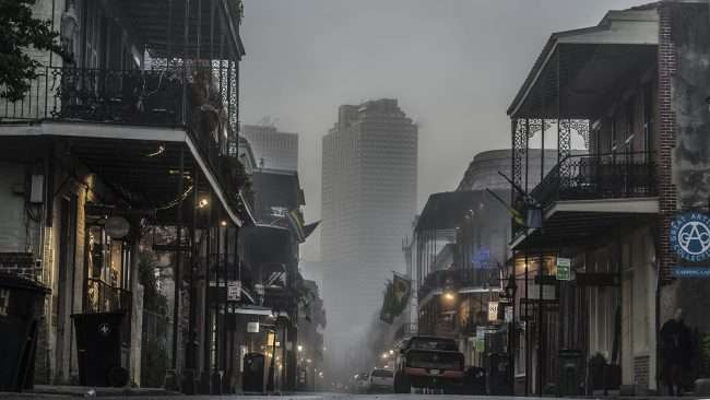 Dec 21, 2017 - Capital One building from Royal Street French Quarter New Orleans, LA/photonews247.com