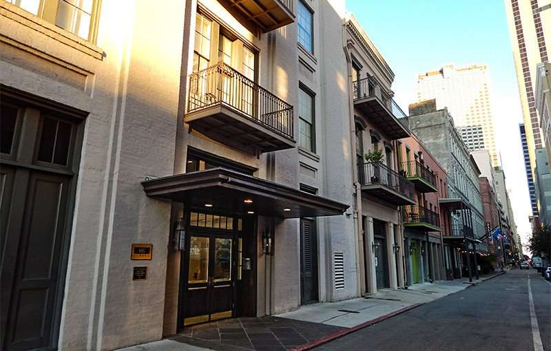 SEPT 14, 2015 - Condos and apartments on Common St in New Orleans, LA/photonews247.com
