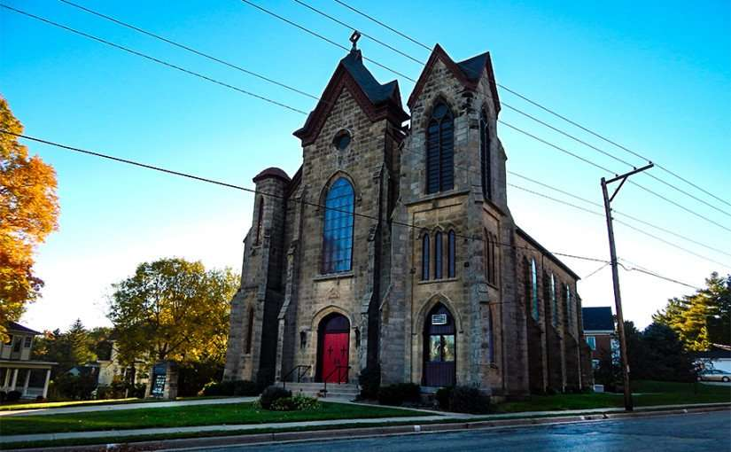 OCT 8, 2015 - First Methodist Church, Mineral Point, WI/photonews247.com