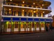 SEPT 14, 2015 - Four Point Hotel by Sheraton three storys high on Bourbon Street, New Orleans, LA/photonews247.com