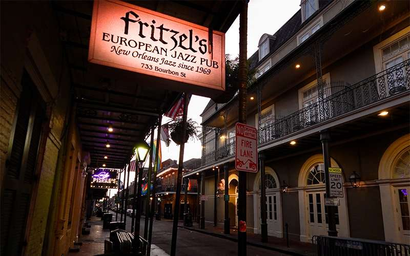 NOV 14, 2015 - Fritzel's European Jazz Pub, Bourbon Street, New Orleans/photonews247.com