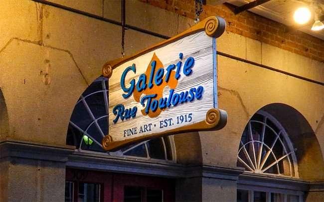 SEPT 14, 2015 - Galerie Rue Toulouse Fine Art Gallery Est 1915, New Orleans, LA/photonews247.com