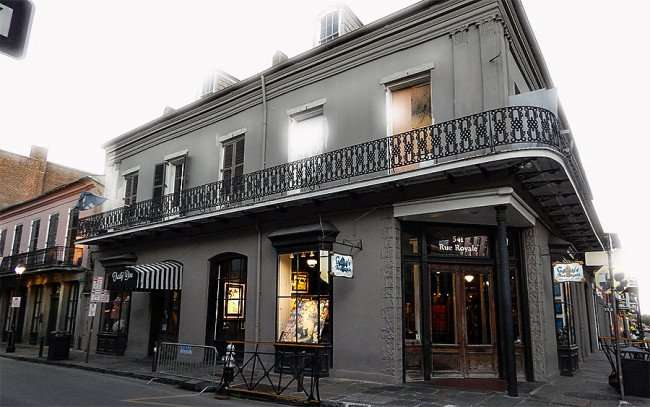 SEPT 14, 2015 - Galerie Rue Toulouse Fine Art Gallery historic building since 1915, New Orleans, LA/photonews247.com