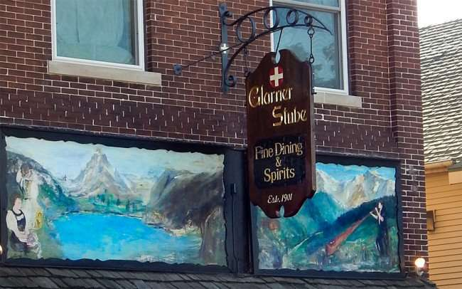 OCT 10, 2015 - Glarner Stube Fine Dining Restaurant (1901) New Glarus, WI/photonews247.com