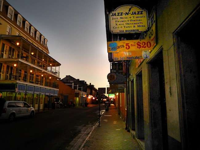 SEPT 14, 2015 - Jazz N Jazz was recorded closed across the street from Sheraton French Quarter Hotel on Bourbon Street/photonews247.com