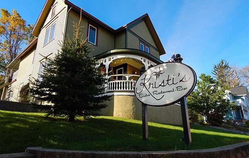 OCT 10, 2015 - Kristis Restaurant in Victorian home in New Glarus, WI/photonews247.com
