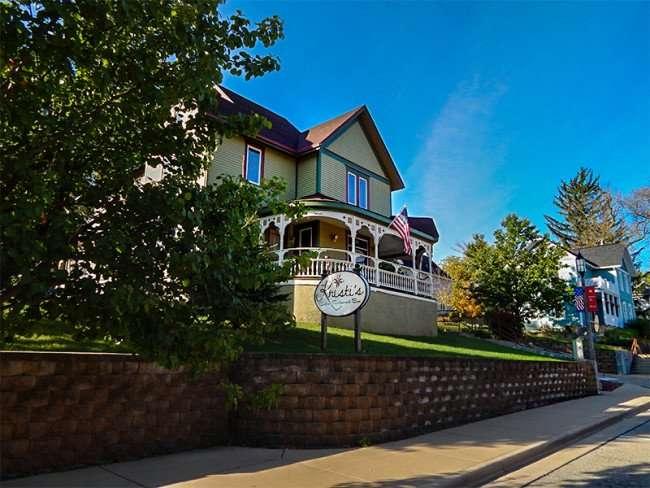 OCT 10, 2015 - Kristis Restaurant in Victorian home nestled in the New Glarus neighborhood of Wisonsin/photonews247.com
