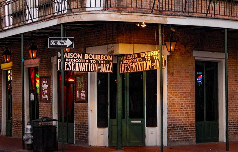 SEPT 14, 2015 - Maison Bourbon live jazz club, New Orleans/photonews247.com