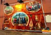 OCT 6, 2015 - Mural depicting 1923 Fire Rescue on 7th Street and Market Street in Metropolis, IL/photonews247.com