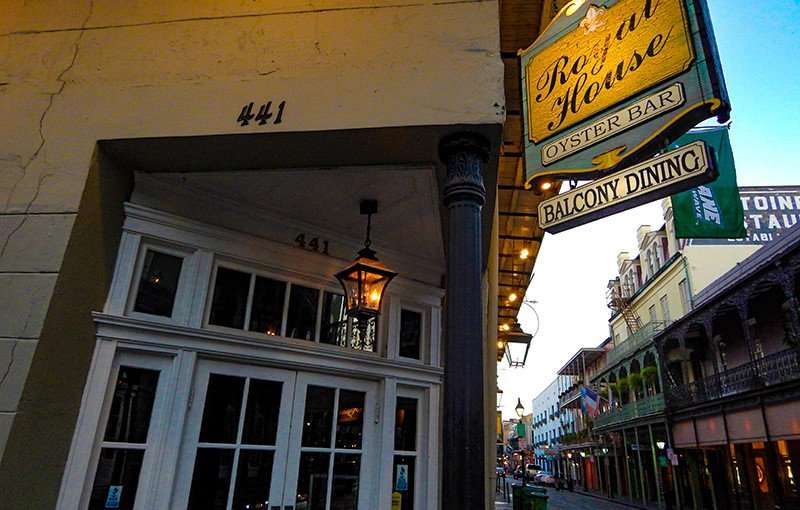 SETP 14, 2015 - Royal House Oyster Bar, New Orleans/photonews247.com