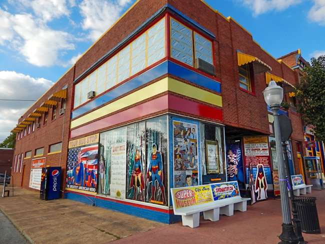 OCT 6. 2015 - Superman Museum building in Metropolis, Illinois/photonews247.com