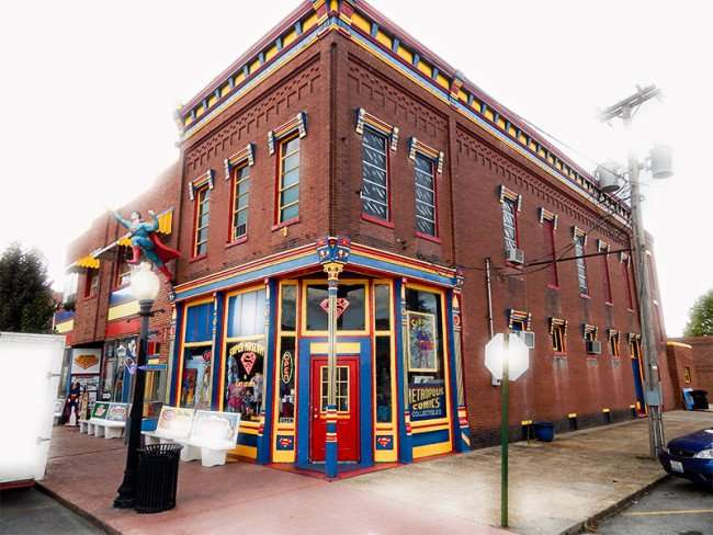 OCT 6, 2015 - Superman Gift Shop in Metropolis, Illinois/photonews247.com