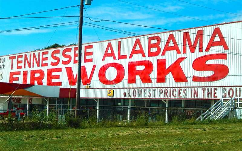 OCT 6, 2015 - Tennessee Alabama Fireworks Jasper, Tennessee/photonews247.com