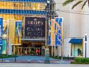 SEPT 14, 2015 - The Shops at Canal Place front Canal Street entrance in New Orleans, LA/photonews247.com