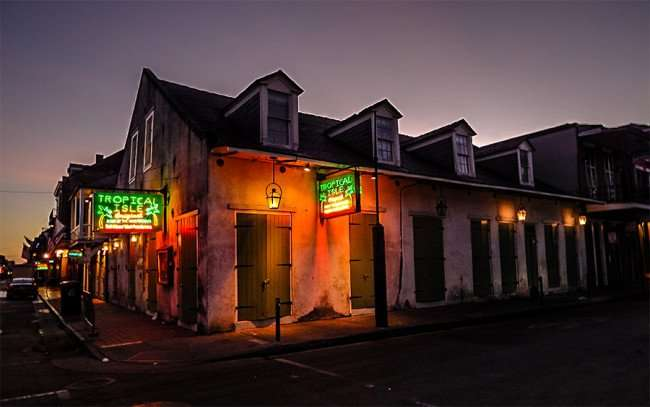 SEPT 14, 2015 - Tropical Isle Bar on Bourbon Street in New Orleans, LA/photonews247.com