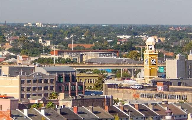 SEPT 14, 2015 - WDSU 6 NBC Radar Tower in New Orleans, LA/photonews247.com
