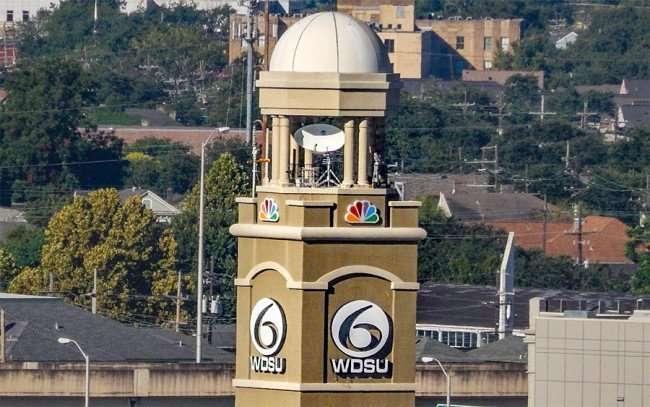 SEPT 14, 2015 - WDSU News Weathe Radar Tower in New Orleans, LA/photonews247.com