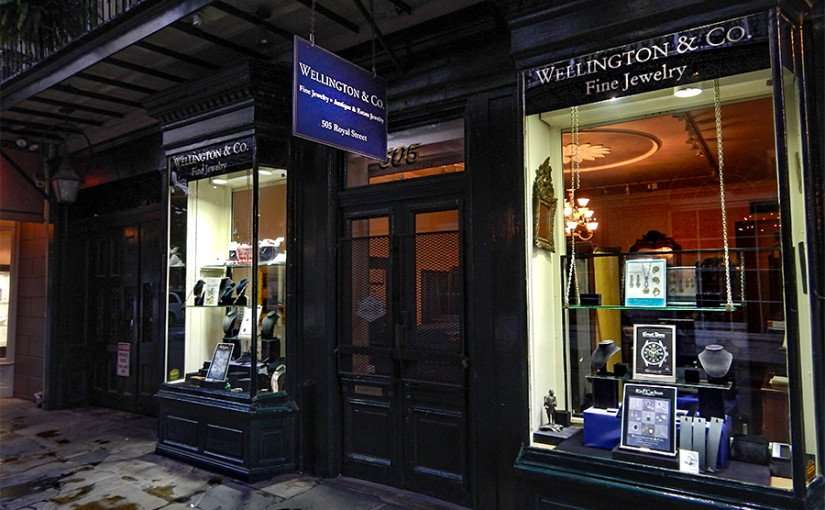 SEPT 14, 2015 - Wellington Fine Jewelry in the French Quarter, New Orleans, LA/photonews247.com