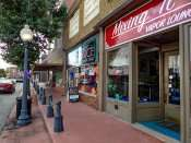 OCT 6, 2015 - locally owned businesses along Market St, Metropolis, Illinois/photonews247.com