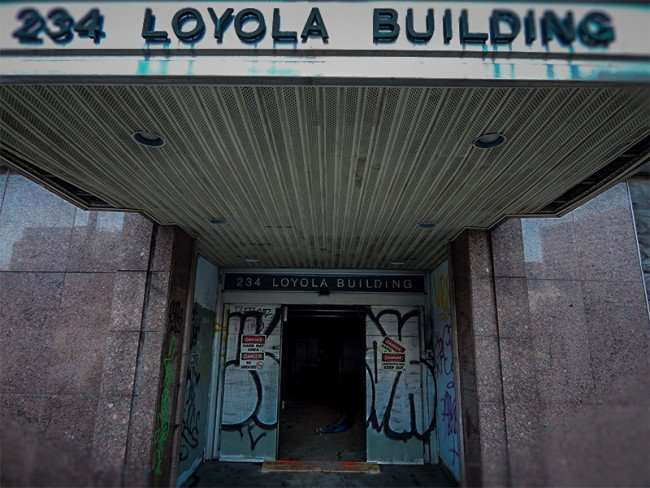 NOV 19, 2015 - 234 Loyola Building under construction in New Orleans, LA/photonews247.com