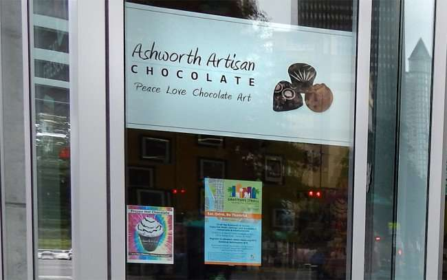 NOV 15, 2015 - Ashworth Artisan Chocolate company inside Duckweed grocery store at The Element, Tampa, FL/photonews247.com
