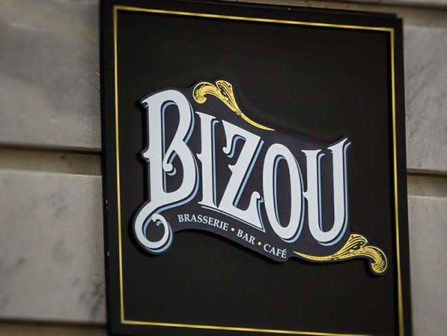 NOV 15, 2015 - Bizou Brasserie Bar Cafe inside the old federal courthouse at the Le Meridien Hotel, Tampa, FL/photonews247.com