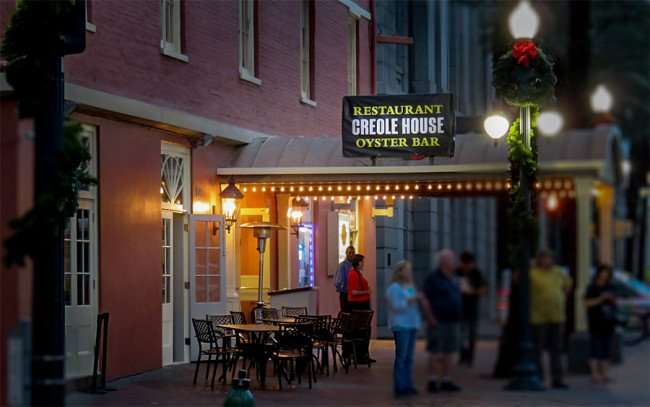 Dec 23, 2015 - Creole House Oyster Bar on Canal Street, New Orleans, LA/photonews247.com