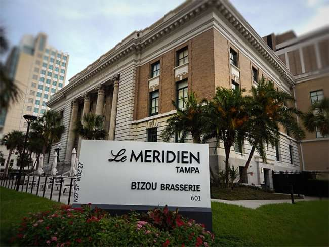 NOV 15, 2015 - Le Meridien Tampa Bizou Brasserie 301 in downtown Tampa, FL/photonews247.com