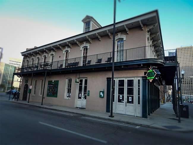NOV 19, 2015 - Little Gem Saloon building in New Orleans, LA/photonews247.com