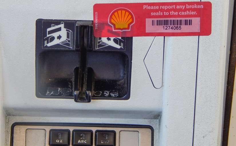 2015: Make sure seal at pump is not broken to avoid to avoid credit card skimmers/photonews247.com