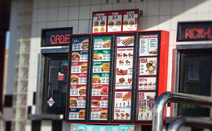 NOV 7, 2015 - Menu prices Checkers Drive-In Hamburger Restaurant Brandon, FL/photonews247.com