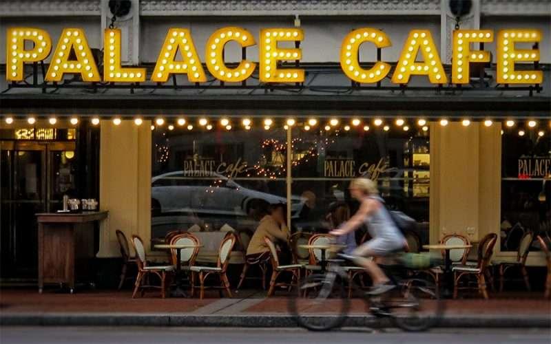 Palace Cafe New Orleans La Menu