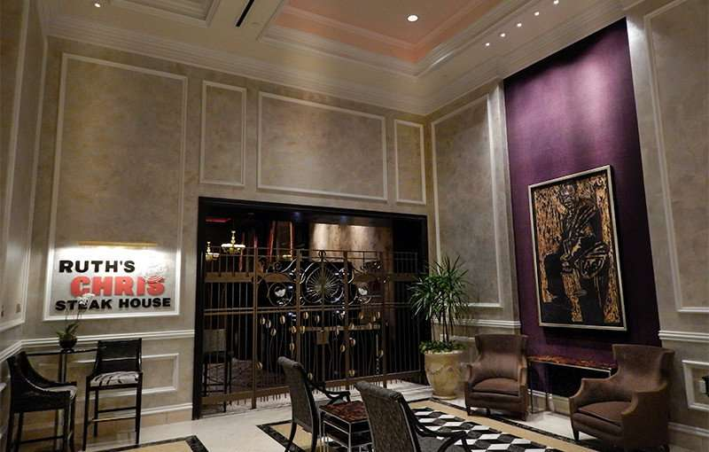 NOV 19, 2015 - Ruths Chris Steak House waiting area in New Orleans, LA/photonews247.com
