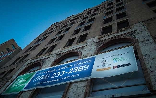 NOV 19, 2015 - The Pythian Nola affordable housing in New Orleans, LA/photonews247.com