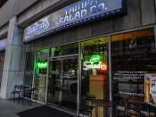 NOV 21, 2015 - The Tampa Salad Company for sidewalk dining/photonews247.com