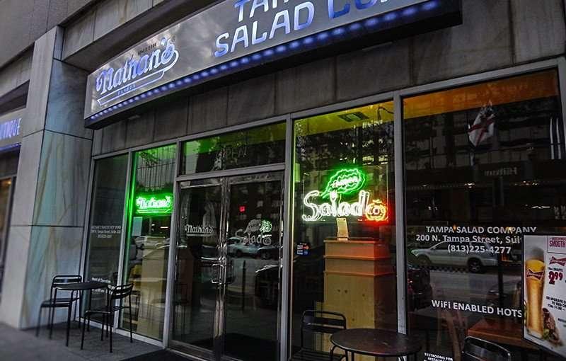 NOV 21, 2015 - The Tampa Salad Company for sidewalk dining/photonews247.com