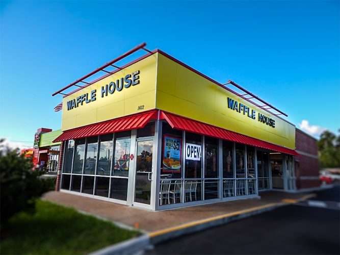 NOV 29, 2015 - The Waffle House at 1412 Brandon Blvd reopens mid November 2015 for the Holidays, Brandon, FL/photonews247.com