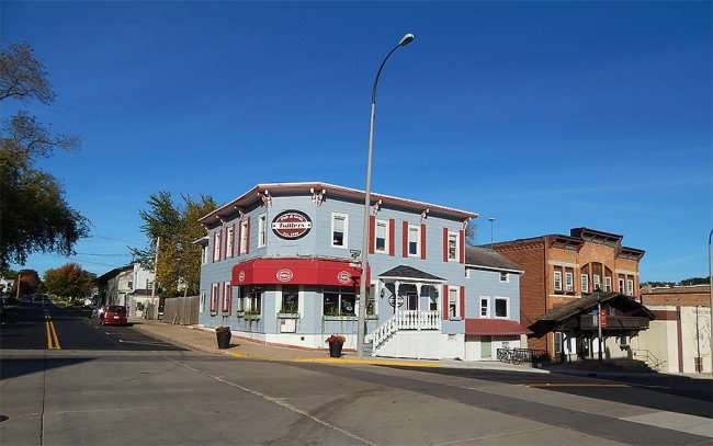 OCT 10, 2015 - Tofflers Bar & Grill from 5th and 2nd Street in New Glarus, WI/photonews247.com