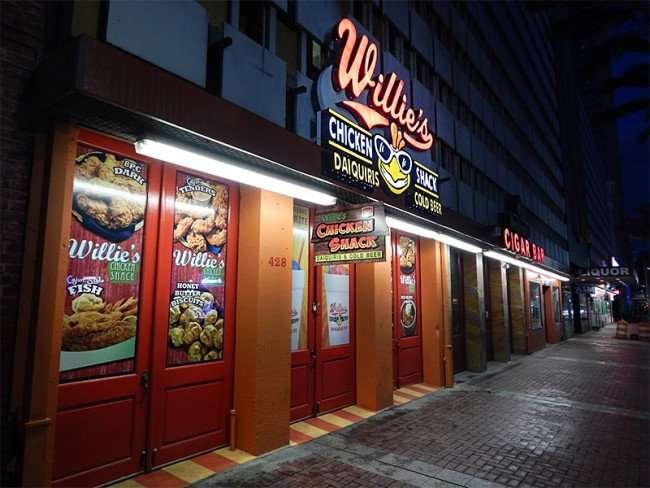 NOV 19, 2015 - Willie's Chicken Shack, 428 Canal Street, New Orleans, LA/photones247.com