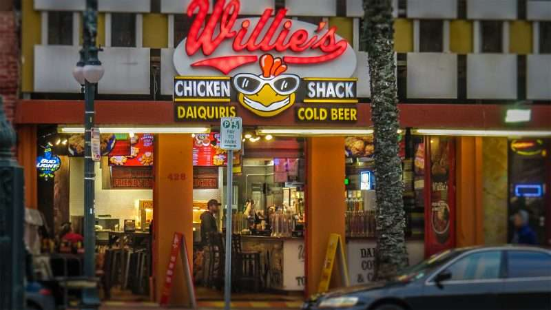Jan 9, 2017 - Willies Chicken Shack, Canal Street, New Orleans, LA/photonews247.com
