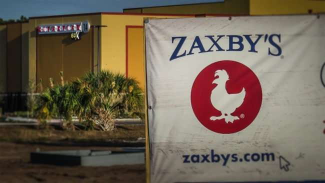 12.24.2016 - Zaxby's under construction next to Riverview 14 GDX Theatre in Gibsonton SouthShore, FL/photonews247.com
