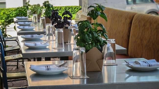Dec 27, 2015 - boca Brandon restaurant inside with tables set before soft opening in Riverview, FL/photonews247.com