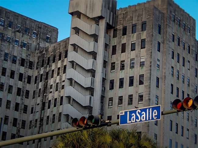 NOV 19, 2015 - Charity Hospital from LaSalle in New Orleans, LA/photonews247.com